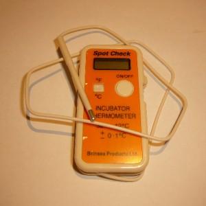 Brinsea digital spotcheck thermometer